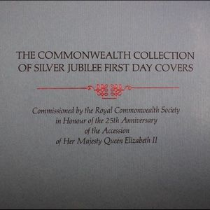 Other - Silver Jubilee First Day Covers And Stamps